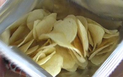 ポテトチップス(牛乳味)3