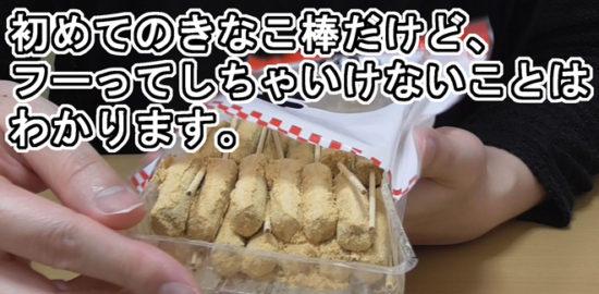 きなこ棒(宇佐見製菓)