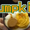 秋のかぼちゃパフェ マロンムースとかぼちゃプリン(ドンレミー)、秋の味覚Pumpkin!