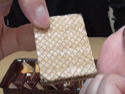 ザッキー ピーナッツチョコウエハース2