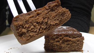 しっとり濃厚ショコラケーキ(ローソン)4
