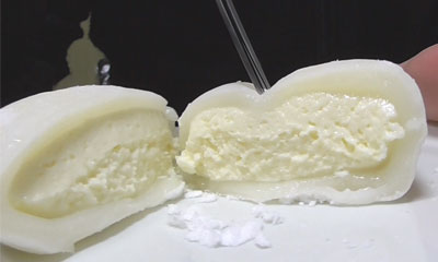 レアチーズもち(セブンイレブン)3