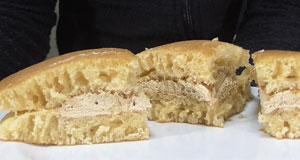 塩キャラメルパンケーキ(セブンイレブン)2