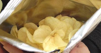 ポテトチップスモンブラン味(カルビー)4