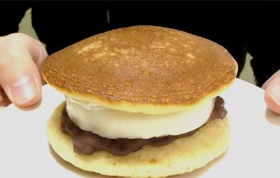 どら焼サンド-レアチーズ&つぶあん(ファミリーマート)2