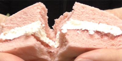 ふわふわスフレ あまおう苺ジャム&ホイップ(山崎製パン)4