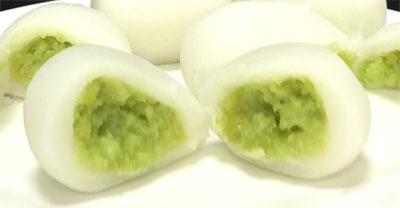 ずんだ餅(業務スーパー)4