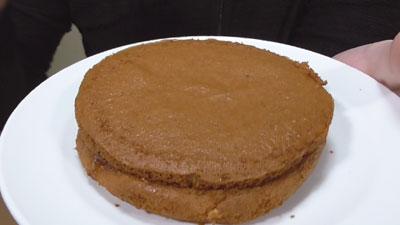 ブランのパンケーキ2個4枚~アガベシロップ入り~(ローソン)3