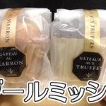 ブールミッシュ トリュフケーキとガトー・オ・マロン