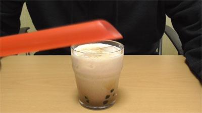 業務スーパー タピオカドリンク ミルクティー6