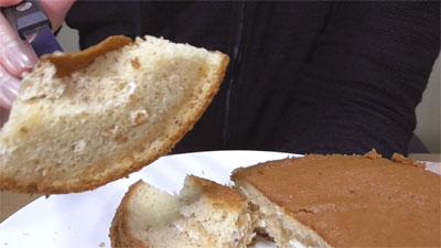 ブランのパンケーキ2個4枚~アガベシロップ入り~(ローソン)5