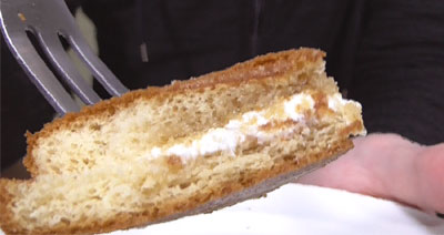 ブランのパンケーキ2個4枚~アガベシロップ入り~(ローソン)6