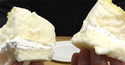 たまごみたいな蒸しケーキ カスタード&ホイップ9