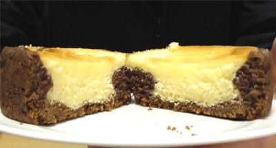 チーズとショコラのタルト6