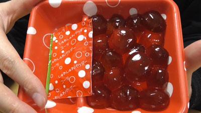 コーラわらび餅(明日香食品)2