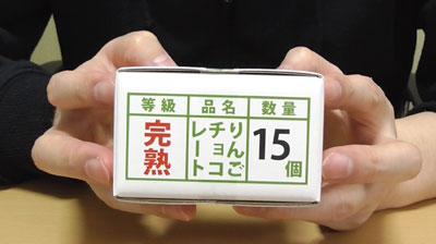 青森限定りんごちょこ(中弘クラフト)2