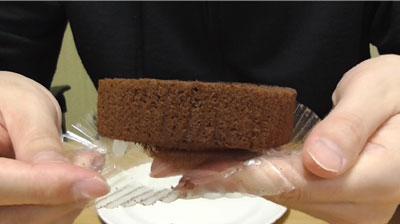 Uchi Cafe SWEETS×GODIVAゴディバショコラロールケーキ4