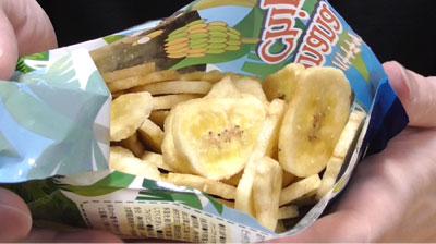 業務スーパー バナナチップ2