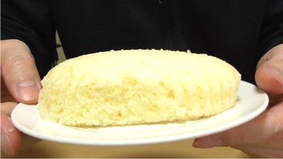 レアチーズ蒸しケーキ(第一パン×QBB)3