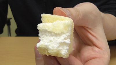 レアチーズ蒸しケーキ(第一パン×QBB)7