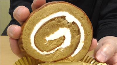 大豆粉とブランのしっとりロール(ローソン)3