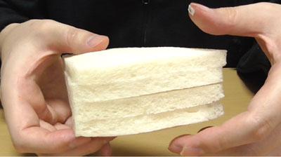 レアチーズケーキサンド Kiriクリームチーズ使用(ローソン)3