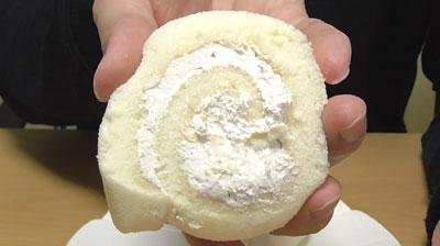 熊本県産米粉使用 白くまロールケーキ2個入り(オランジェ)3