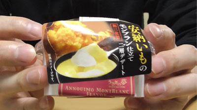 うさぎの夢 種子島産 安納いものモンブラン仕立て二層デザート2