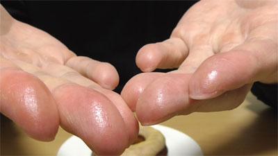 ブランの焼きドーナツ 塩キャラメル(ローソン)6