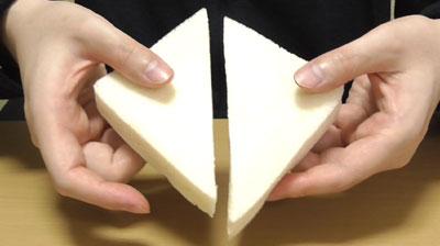 レアチーズケーキサンド Kiriクリームチーズ使用(ローソン)4