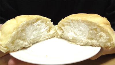 ふわふわホイップのメロンパン(マルト神戸屋)5