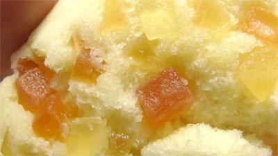 沖縄フェア パパイヤ&塩バニラ蒸しパン(イトーパン)7