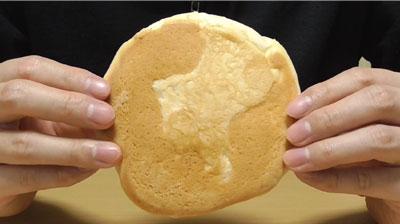 ふわふわホイップのメロンパン(マルト神戸屋)3