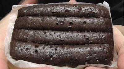 ちぎれるチョコ蒸しパン2