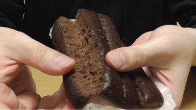 ちぎれるチョコ蒸しパン3