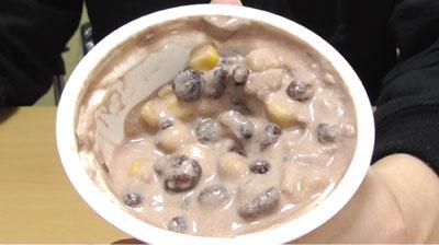 ココナッツミルクのスイーツ-あずき5