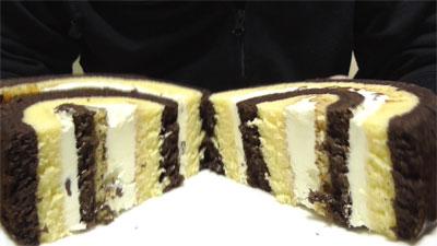 厚切りチョコバナナロール(山崎製パン)5