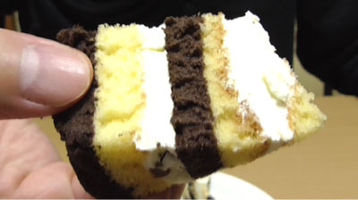 厚切りチョコバナナロール(山崎製パン)7