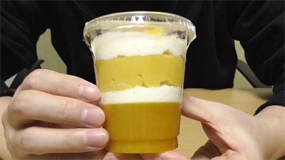 4層仕立てのマンゴーミルク&ゼリー 完熟アルフォンソマンゴービューレ使用2