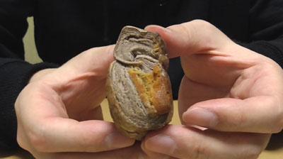 和栗とチョコのひとくちパイ5