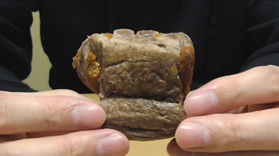 和栗とチョコのひとくちパイ4