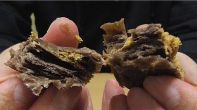 和栗とチョコのひとくちパイ7