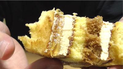 りんごとカラメルのロールケーキ(ヤマザキ)7