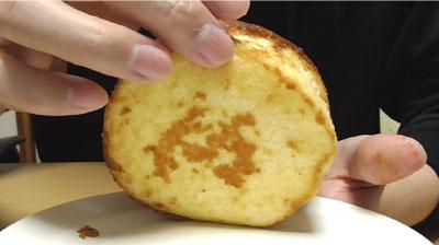 カラメルソースがしみこんだ ざらめのフワジュワケーキ4
