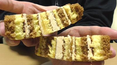 りんごとカラメルのロールケーキ(ヤマザキ)5