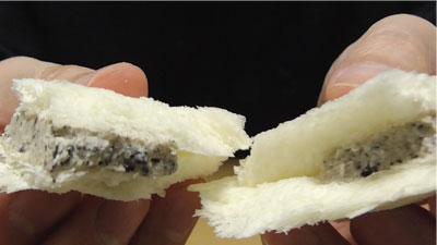 ランチパック クッキーアンドクリーム風 サーティーワンアイスクリーム(山崎製パン)7