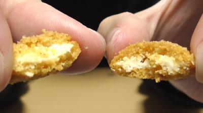 燻製香るスモークサラミのチーズインスナック(セブンイレブン)6