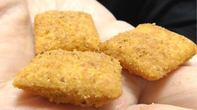 燻製香るスモークサラミのチーズインスナック(セブンイレブン)7
