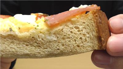 ハムエッグトースト~ブラン入り食パン使用~(ローソン)6