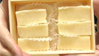 秋田名物-バター餅(蕗月堂)2